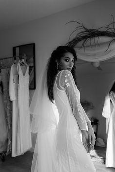 Wedding dress, boho bride by Hope and Ivy London Wedding Dress Shopping, Wedding Dresses, Monique Lhuillier, Boho Bride, Vera Wang, Ivy, One Shoulder Wedding Dress, Gowns, London