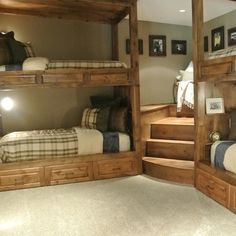 Corner Bunk Beds Ideas, Pictures, Remodel and Decor
