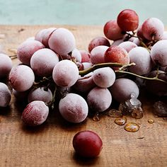 Tip: Keep cocktails and white wine cool with frozen grapes, which won't dilute drinks.