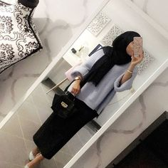 ideas for style hijab outfit skirts – Hijab Fashion 2020 Muslim Fashion, Modest Fashion, Hijab Fashion, Fashion Outfits, Hijab Chic, Hijab Dress, Hijab Outfit, Modest Dresses, Modest Outfits