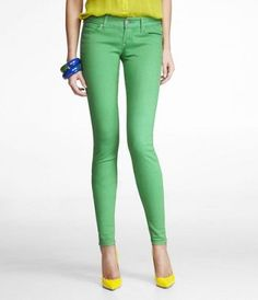 ZELDA COLORED JEAN LEGGING-LIGHT GREEN ( I just really enjoy that they are called Zelda Green pants!!! :D)