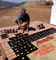 Merveilleux Outdoor Deck Ideas   Patio Pal Brick Laying Guides Make It Easy To Build A  Designer Patio Or Walkway. Get A Professional Look Without The Pro!