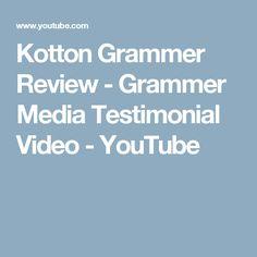 Kotton Grammer Review - Grammer Media Testimonial Video - YouTube