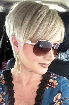 Blonde-Pixie-Bangs Chic Short Haircuts for Women Over 50 Blonde-Pixie-Bangs Chic Short Haircuts for Women Over 50 Related posts:Short Hairstyles for Fine Hair 2018 Haircuts For Fine Hair, Short Pixie Haircuts, Girl Haircuts, Pixie Hairstyles, Short Hairstyles For Women, Trendy Hairstyles, Pixie Bangs, Hairstyles 2018, Bob Haircuts