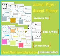 Student Planner + {Load O' Printables}