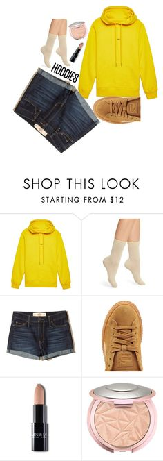 """""""cozy hoodie"""" by gabriellavanda on Polyvore featuring Helmut Lang, Chelsea28, Hollister Co. and Puma"""
