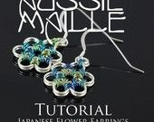 Chainmaille Tutorial - Japanese Flower Chain Maille Earrings