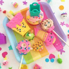 Sweets + Treats from a Shopkins Birthday Party via Kara's Party Ideas | KarasPartyIdeas.com (14)