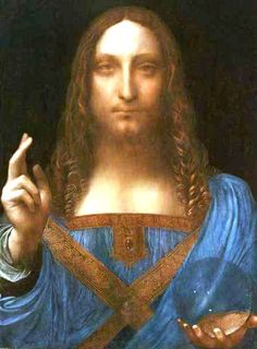 (Love this 'lost' Leonard da Vinci painting 'discovered in the past few years and fully restored to it's brilliance......amazing....it certainly has that beautiful, 'luxurious' Leonardo feel to it.......how special!)