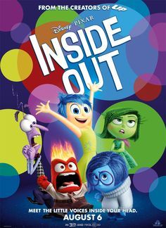 Lewis Black, Bill Hader, Amy Poehler, Phyllis Smith, and Mindy Kaling in Inside Out Disney Inside Out, Film Inside Out, Inside Out Poster, Matthew Fox, Movies To Watch, Good Movies, Warren Beatty, Mindy Kaling, Bill Hader