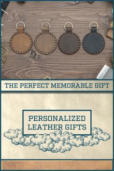 Gifts For Husband, Gifts For Family, Gifts For Him, Custom Engraving, Engraving Ideas, Laser Engraving, Leather Gifts, Leather Craft, Style Scrapbook