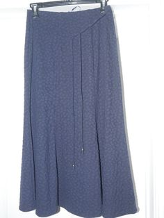5e72727a30 Ladies New Navy Blue M&S Classics Skirt Size 10 Textured Detail  #fashion #