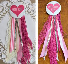 mint love social club: {bachelorette party pins}