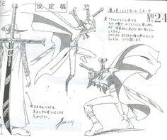 Black Blade / Yoru, Mihawk sheet, Character design, Official reference, Settei