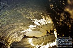 This one is insane! A reflection like that of the rocks in the wave is extremely rare to capture.