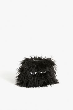Monki Ikmo pouch  in Black
