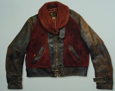 """1940's """"Grizzly"""" Horsehide Jacket"""