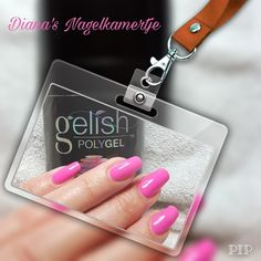 Pink nails/ polygel