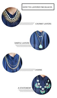 How to: Layered Necklaces