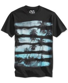 Univibe Sunset Stripe T-Shirt