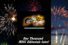 Big milestone today--today is the 1000th MSCC editorial so this one is about the last 999. That is a lot of opinions--here's the link: http://mystarcollectorcar.com/wow-mystar-just-hit-1000-edi…/