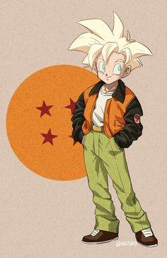 GOHAN VESTIDO DE GOKU Anime Chibi, Manga Anime, Dragon Ball Z, Goku And Gohan, Son Goku, Digimon, Star Wars Commando, Manga Dragon, Kuroko