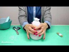 Como hacer un muñeco de nieve con un calcetín!!! - YouTube
