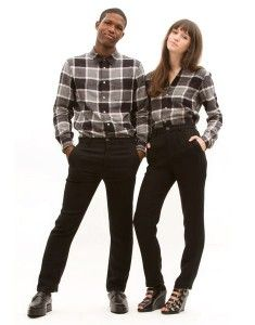 Wear it like a... man or woman. Read the guide to unisex clothing: http://attireclub.org/2014/01/05/unisex-clothes/