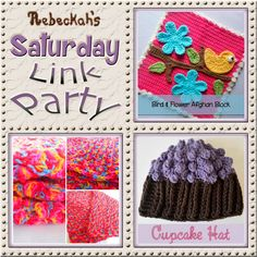 Share what you're making, increase your reach and have some fun with Rebeckah's 24th Saturday Link Party with @beckastreasures