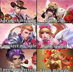 Image may contain: 5 people, text Bear Wallpaper, Marvel Wallpaper, Tumblr Wallpaper, Bang Bang, Miya Mobile Legends, Mobiles, Alucard Mobile Legends, Moba Legends, League Memes