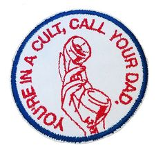 Murderino You're In A Cult, Call Your Dad Patch Toogumshoe My Favorite Murder Journal Quotes, Iron On Patches, Wiccan, Art Inspo, Cross Stitch, Dads, Arts And Crafts, Geek Stuff, Kids Rugs