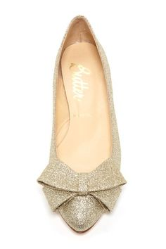 Sparkle Bow Flats