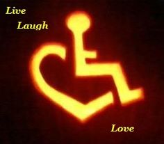 "Wheelchair Heart Inspiration... After almost 3yrs in this wheelchair,  this is one of the 1st positive ""pins"" I've seen!♥♡♥"
