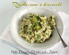 risotto con broccoli