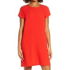 Short Sleeve Dresses, Dresses With Sleeves, Ted Baker, Identity, Female, Digital, Casual, Red, Shopping