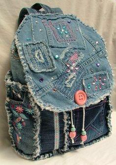 O Lado de Cá: Reaproveitando seu jeans