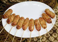 Sate pentol ayam (kipgehakt) - Kokkie Slomo - Indische recepten