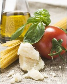 The worlds best pasta sauce is simple... Tomatoes, Olive Oil, Basil and Parmesan