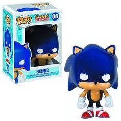 Fãs de Sonic: Preparem a prateleira para o novo boneco POP! Sonic the Hedgehog da Funko!
