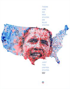 Just the United States by tsevis, via Flickr
