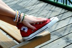 Bracelets and Converse by Andreea · 365 Project