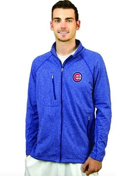 """CHICAGO CUBS MEN'S PERFORMANCE """"ALLY"""" JACKET BY ANTIGUA #ChicagoCubs #Cubs #CubsFans #GoCubs #Chicago"""