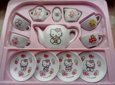 Hello Kitty Haus, Hello Kitty Items, Cute Pink, Pretty In Pink, Kawaii Room, Otaku, My Melody, Soft Grunge, Pink Aesthetic
