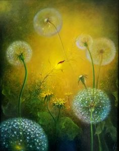 Fairy Art, Whimsical Art, Mellow Yellow, Traditional Art, Flower Art, Collages, Fantasy Art, Cool Art, Art Drawings