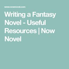 Writing a fantasy novel means paying attention to common elements of the fantasy genre, worldbuilding and more. Use these helpful fantasy writing resources. Creative Writing Tips, Book Writing Tips, Writing Process, Writing Resources, Writing Help, Writing Ideas, Writing Romance, Fiction Writing, Story Writer