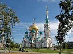 Church of the Dormition of the Theotokos, Omsk, Russia