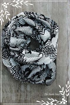 Nordic Scarf  Grey Lightweight Infinity Scarf by Northernly, $36.00 Oh I want....