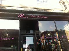 Cake shop in Edinburgh
