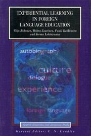 Kohonen, Viljo: Experiential learning in foreign language education