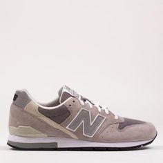 NEW BALANCE 996 - GREY SUEDE MRL996AG